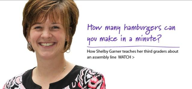 Shelby Garner: Imparting the lessons of the assembly line