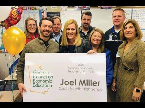 Georgia's 2020 Economics Teacher of the Year