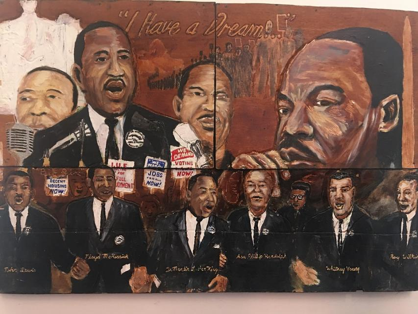 civil rights mural